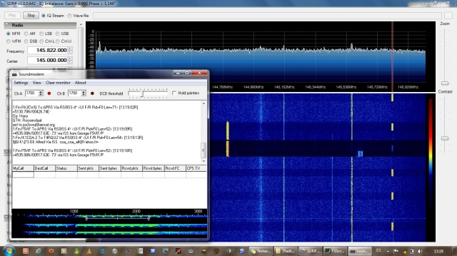 Decoding the ISS Packet/APRS stream on 145.825!!!